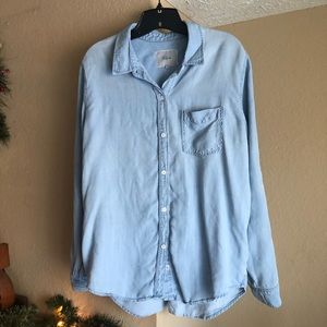 Rails (Nordstrom) - Light and detail Chambray Top